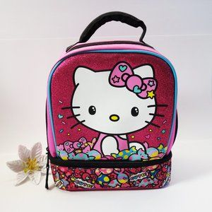 Hello Kitty by Sanrio Pink Glitter Candy Lunchbox